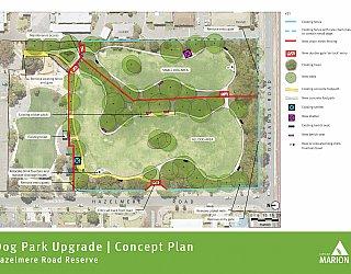 Hazelmere Road Reserve | Dog Park Upgrade | Concept Plan | June 2018