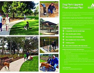 Hazelmere Road Reserve   Dog Park Upgrade   Design Information   September 2018