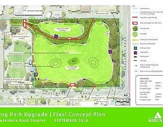 Hazelmere Road Reserve   Dog Park Upgrade   Final Concept Plan   September 2018