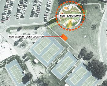 Shamrock Road Reserve Toilet Consultation Map
