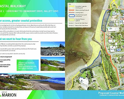Coastal Walkway Consultation Sign