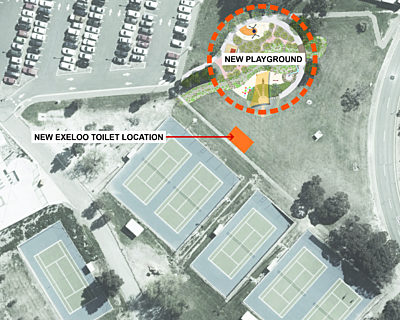 Shamrock Road Reserve Toilet Consultation Map