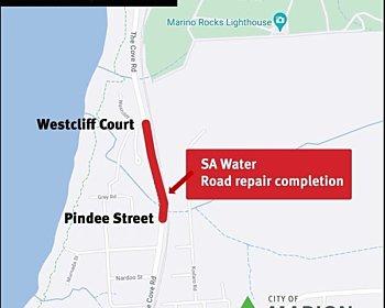 SA Water update road repair