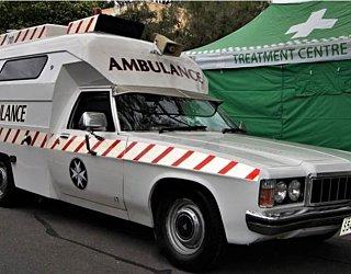 St John Em Care Vintage Ambulance