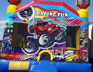 Racing Fun Jumping Castle