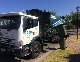 Solo Rubbish Truck