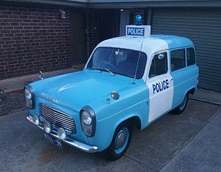 V9Intage Mark Howsons Escort Police Van 2