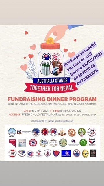 Nepalese fundraiser