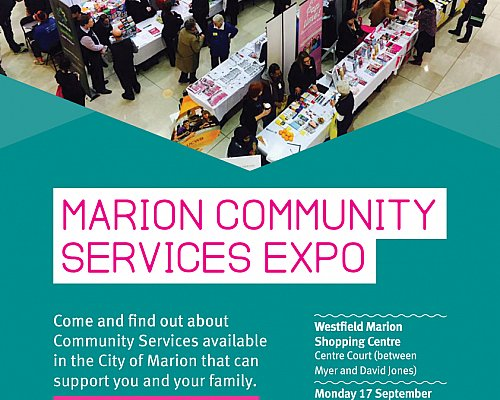 Marion Community Services Expo Flyer
