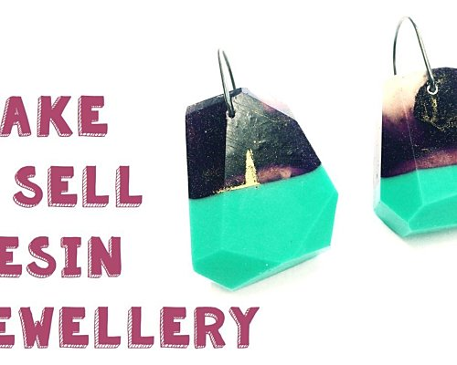 Make And Sell Resin Jewellery