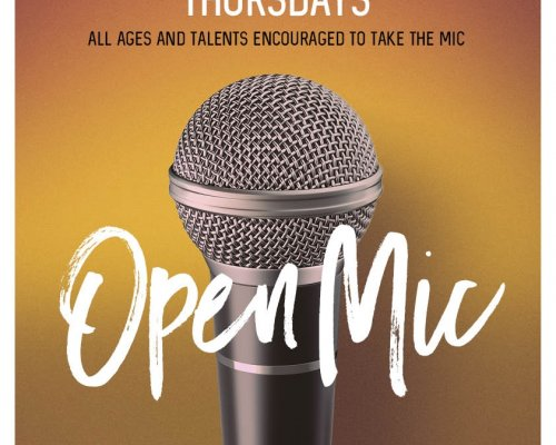Open Mic Poster 2018
