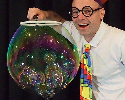 Scientific Bubble Show