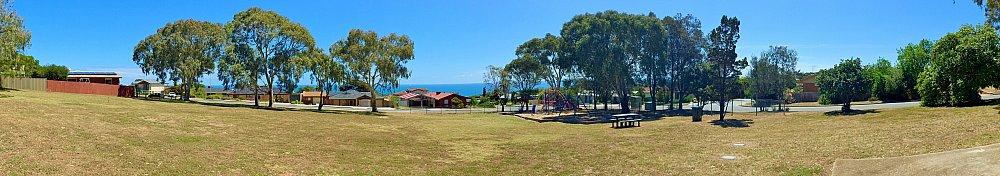 Manoora Drive Reserve Panorama 2