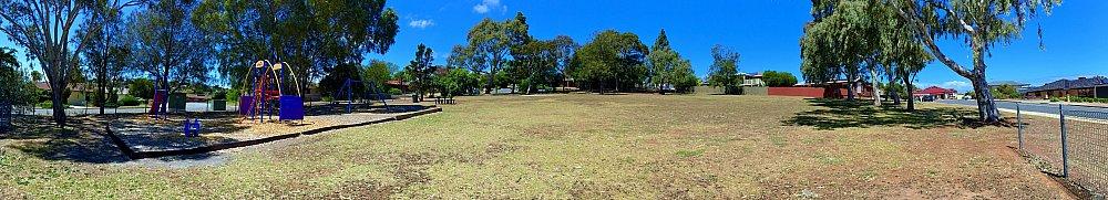 Manoora Drive Reserve Panorama 1