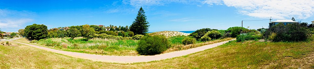 Cormorant Drive Reserve North Panorama
