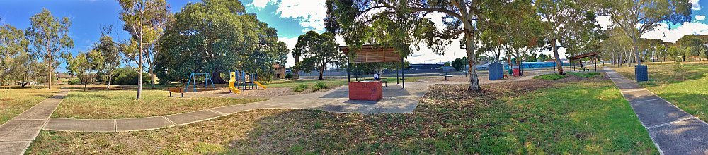 Willoughby Avenue Reserve Panorama 1