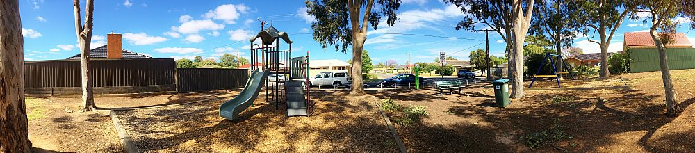 Hawkesbury Avenue Reserve Panorma 2