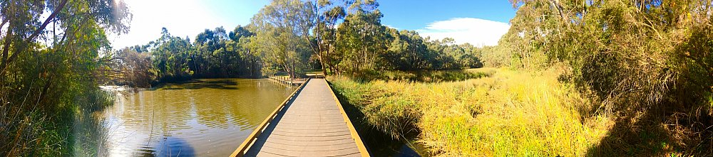 Warriparinga Wetlands Boardwalk