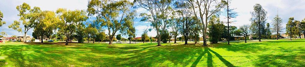 Mitchell Street Reserve Panorama 1