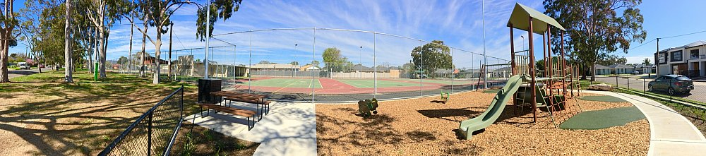 Woodforde Family Reserve Playground Panoramic 1