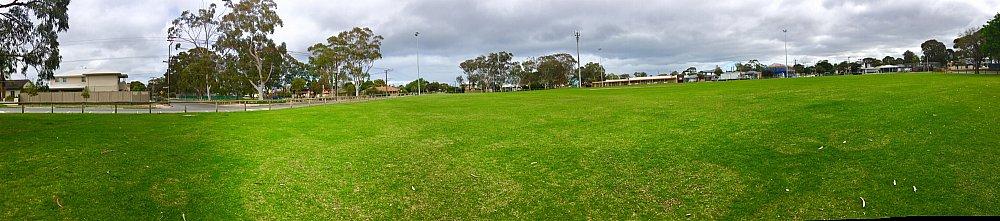 Kellett Reserve Oval Panorama 2
