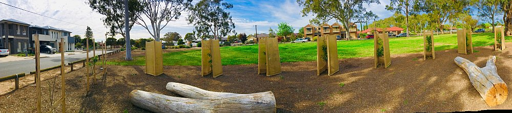 Parsons Grove Reserve Orchard Panorama 2