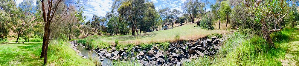 Cormorant Drive Reserve South Panorama 1