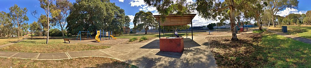 Willoughby Avenue Reserve Panorama 2