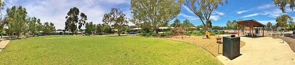 Rajah Street Reserve Playground Panorama 1