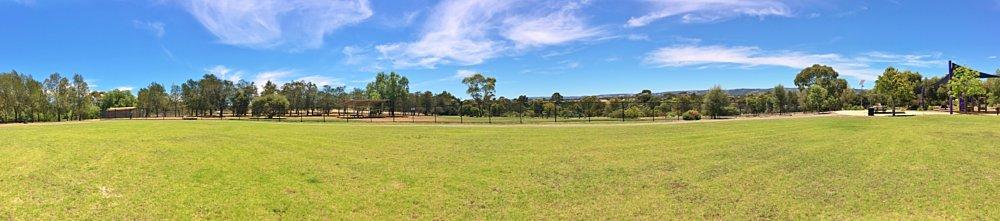 Reserve Street Reserve Playground Shade Panorama 2