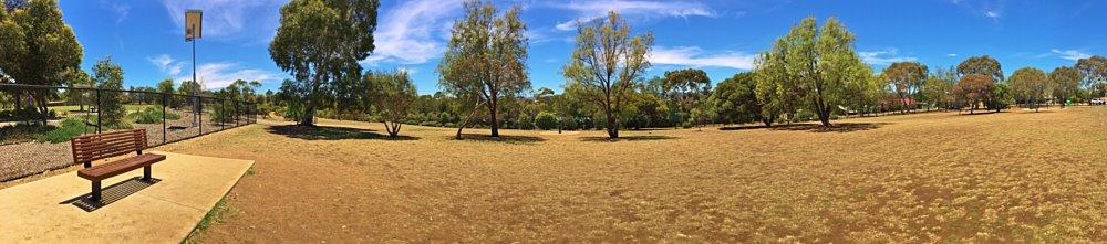 Reserve Street Reserve Dog Park Panorama 2