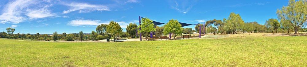 Reserve Street Reserve Playground Shade Panorama 1