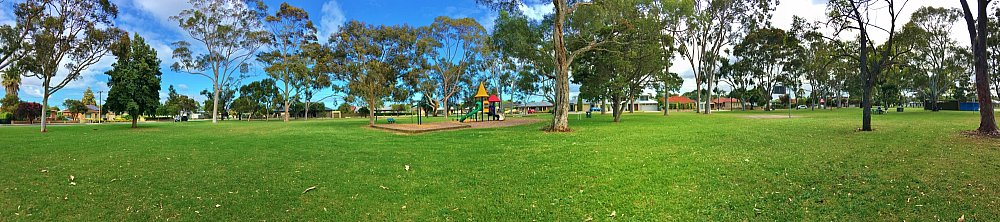 Hamilton Park Reserve Panorama 1