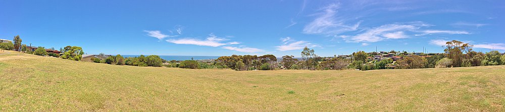 Roy Lander Reserve Views Panorama 1