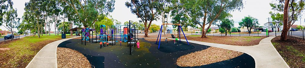 Sandery Avenue Reserve Panoramic Playground