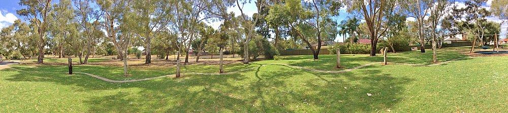 Maldon Avenue Reserve Panorama 2