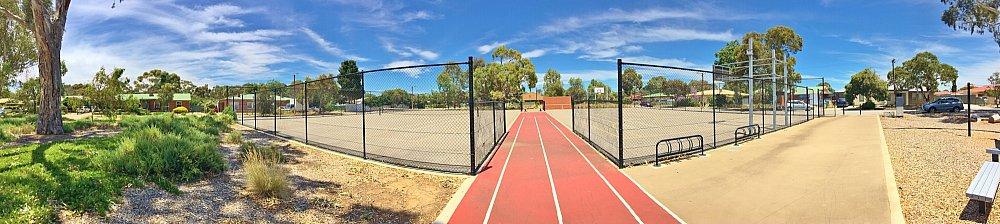 Rajah Street Reserve Sports Panorama 1