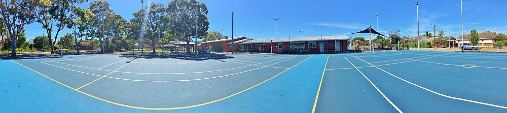 Marion Oval Tennis Panorama 1