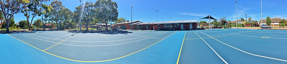 Marion Oval Tennis Panorama 1