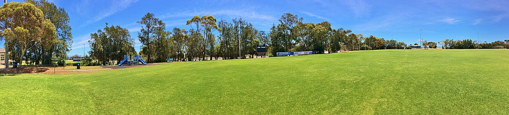The Cove Sports Eastern Field Panorama 2