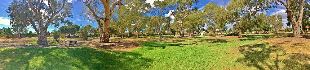Maldon Avenue Reserve Panorama 4