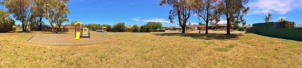 Wistow Crescent Reserve Panorama 1