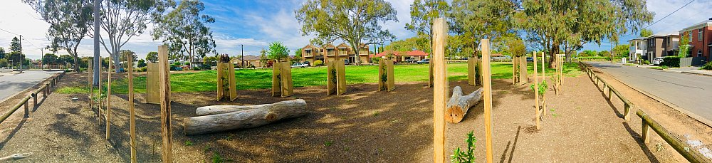 Parsons Grove Reserve Orchard Panorama 1