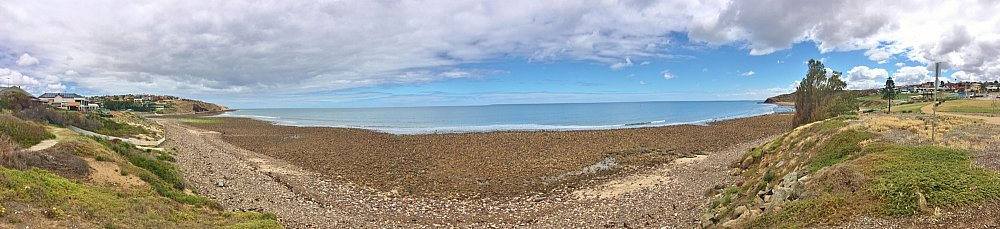 Heron Way Reserve Beach Panorama 1