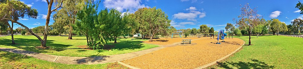 Alison Avenue Reserve Panorama 2