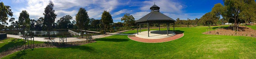 Oaklands Reserve Oaklands Recreation Plaza Rotunda Space Panoramic 2