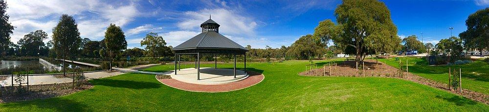Oaklands Reserve Oaklands Recreation Plaza Rotunda Space Panoramic 1