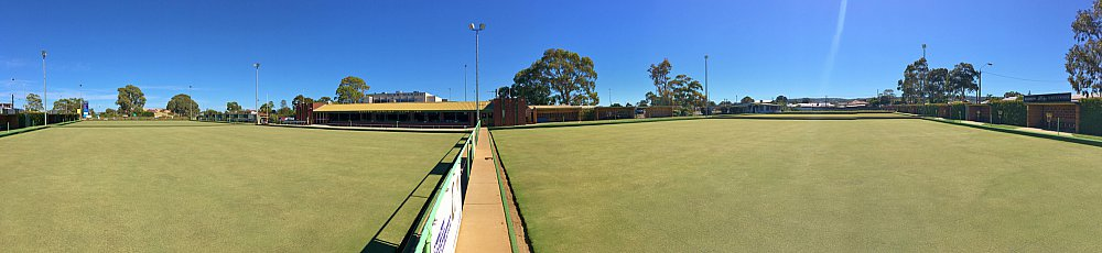 Marion Oval Lawn Bowls Panorama 1