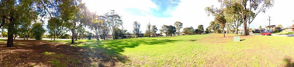 Mitchell Street Reserve Panorama 3