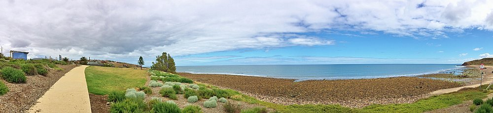 Heron Way Reserve Beach Panorama 2